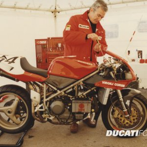 Ducati 916 from Massimo Tamburini
